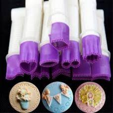 Щипцы для декорирования мастики. Набор 10 предметов