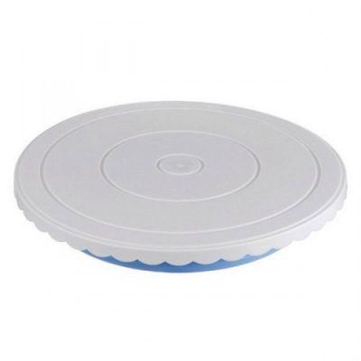 Вращающаяся подставка для торта поворотный столик, h - 9 см.