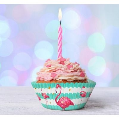 "Набор капсул ""С Днем Рождения, фламинго"" , 24 шт."