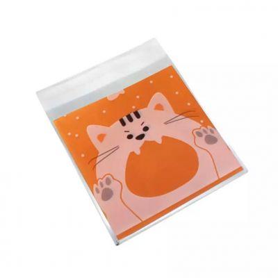 Пакетик для сладостей Кот, 10 шт.