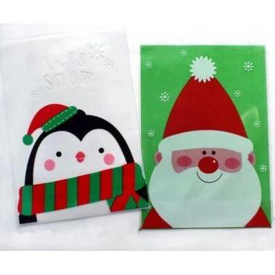 Пакетик для сладостей Дед Мороз и Пингвиненок, 5+5 шт.