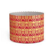 Форма бумажная для кулича (d=11 см., h=9 см.), 1 шт.