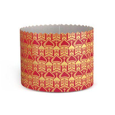 Форма бумажная для кулича (d=9 см., h=9 см.), 1 шт.