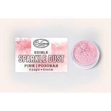 Сухой краситель Пудра-блеск Розовая