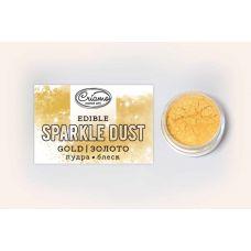 Сухой краситель Пудра-блеск Золото