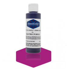 Гелевый Краситель AmeriColor  Electric Purple #265 (пурпурный электрик), 128 г