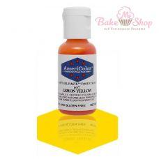 Гелевый Краситель AmeriColor Lemon Yellow #107 (лимонный)