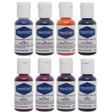 Набор гелевых красителей AmeriColor Junior kit (детский), 8 цветов