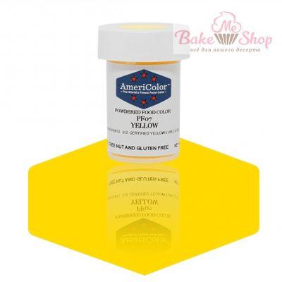 Сухой Краситель AmeriColor Yellow/Желтый
