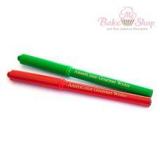 Набор пищевых фломастеров AmeriColor, 2 шт (красный, зеленый)