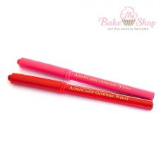 Набор пищевых фломастеров AmeriColor, 2 шт (красный, розовый)