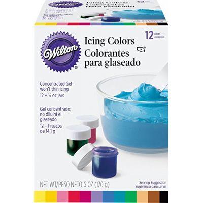Вилтон/Wilton Набор гелевых красок, 12 цветов по 14 гр.