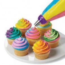 Переходник (адаптер) для создания трехцветного крема
