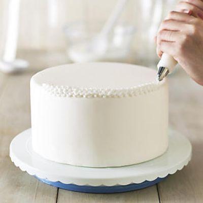Вращающаяся подставка для торта поворотный столик, h - 4 см