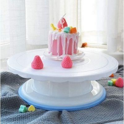 Вращающаяся подставка для торта поворотный столик, h - 9 см