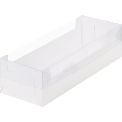 Коробка для кондитерских изделий белая, 30*11*8 см.