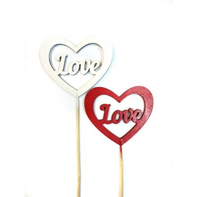 Топпер для торта Сердце LOVE