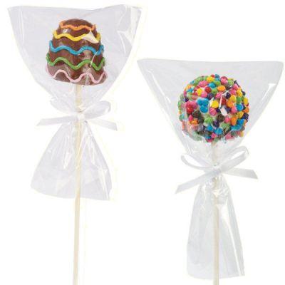 Пакетик для сладостей Прозрачный 6*9, 10 шт.