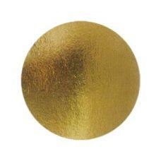 Подложка для десерта круглая золото/серебро, диаметр 8 см