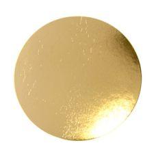 Подложка для торта золото, толщ.=1,2 мм., d=38 см.