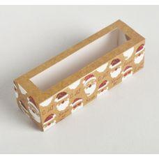 """Коробка для макаронс """"Новогоднее настроение"""", 18*5,5*5,5 см"""