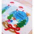 Пакетик для сладостей Новогодний шар 10*11, 10 шт.