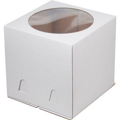 Коробка для торта 24*24*24 с окном