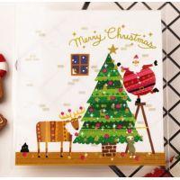 Пакетик для сладостей Merry Christmas 10*11, 10 шт.