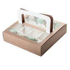 Коробка для кейкпопс крафт