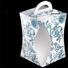 Коробка для кулича фарфор 12,4*16 см.