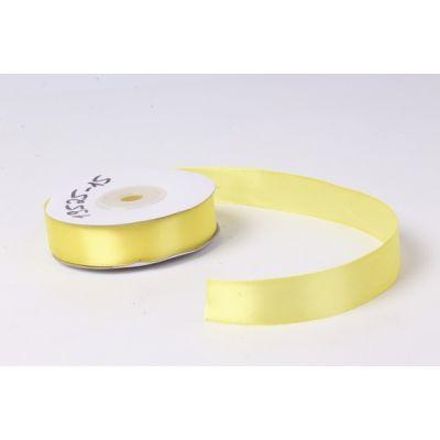 Лента атласная 2 см.*25 м., Желтый