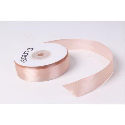 Лента атласная 2 см.*25 м., Розовый пастель