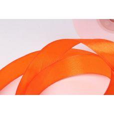 Лента атласная 2 см*25 м, Оранжевый