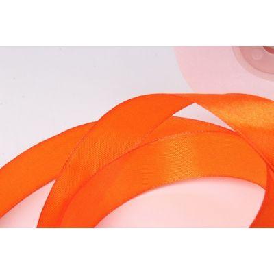 Лента атласная 2,5 см.*25 м., Оранжевый