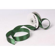 Лента атласная 2 см*25 м, Темно-Зеленый