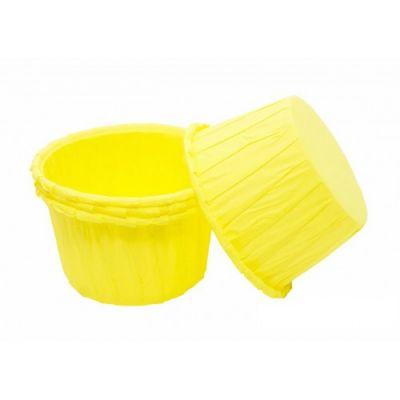 Бумажная капсула усиленная желтая, 20 шт.
