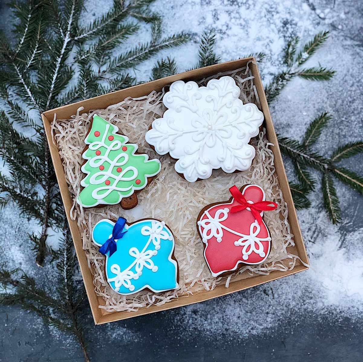 Печенье на новый год